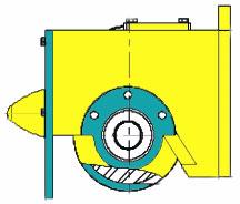 Блок-ходовые колеса для опорных концевых балок