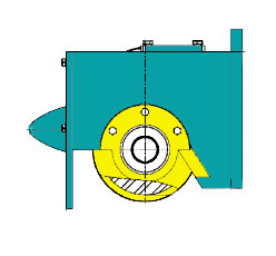 Блок-ходовые колеса для опорных концевых балок взи